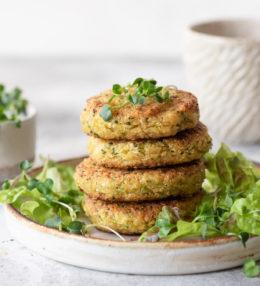 Hamburguesas de brócoli y quinoa